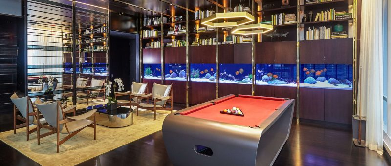 custom aquariums by Okeanos