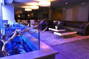 custom pond installation & waterwall