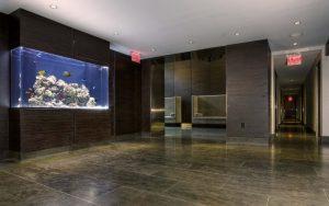 Battery Park City Lobby Aquarium Installers