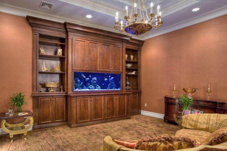 custom home aquariums