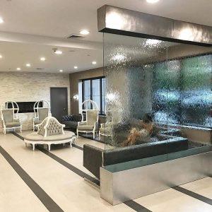 hotel waterfalls
